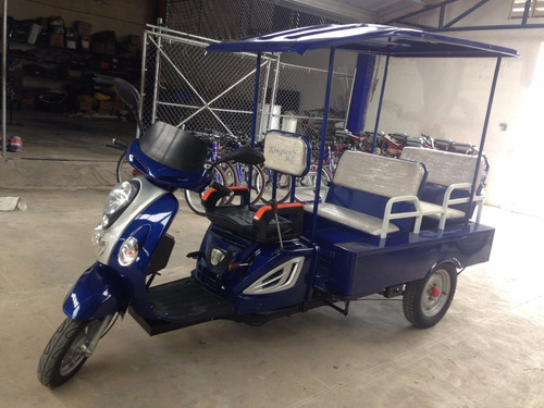 trimoto scooter 4+1 pasajeros 110cc 12 meses