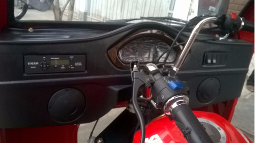 trimoto sunshine 300cc, cabina, tolva 2.50 x 1.40 x 0.70,