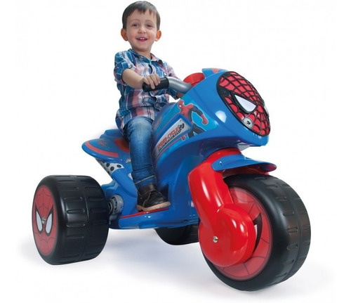 trimoto waves spiderman 6v injusa