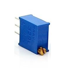 trimpot preset potenciometro 200k ohm robotica arduino pic