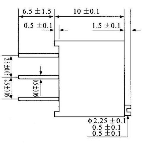 trimpot vertical vedado 3296w multivoltas 500r (501)(10 pçs)