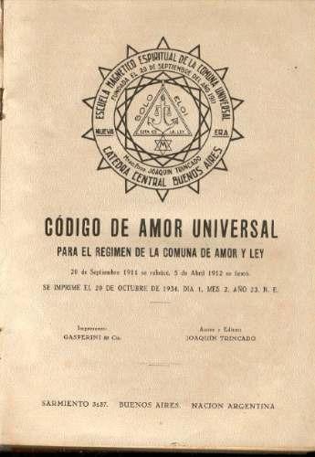 trincado,escuela magnetico espiritual de la comuna universal