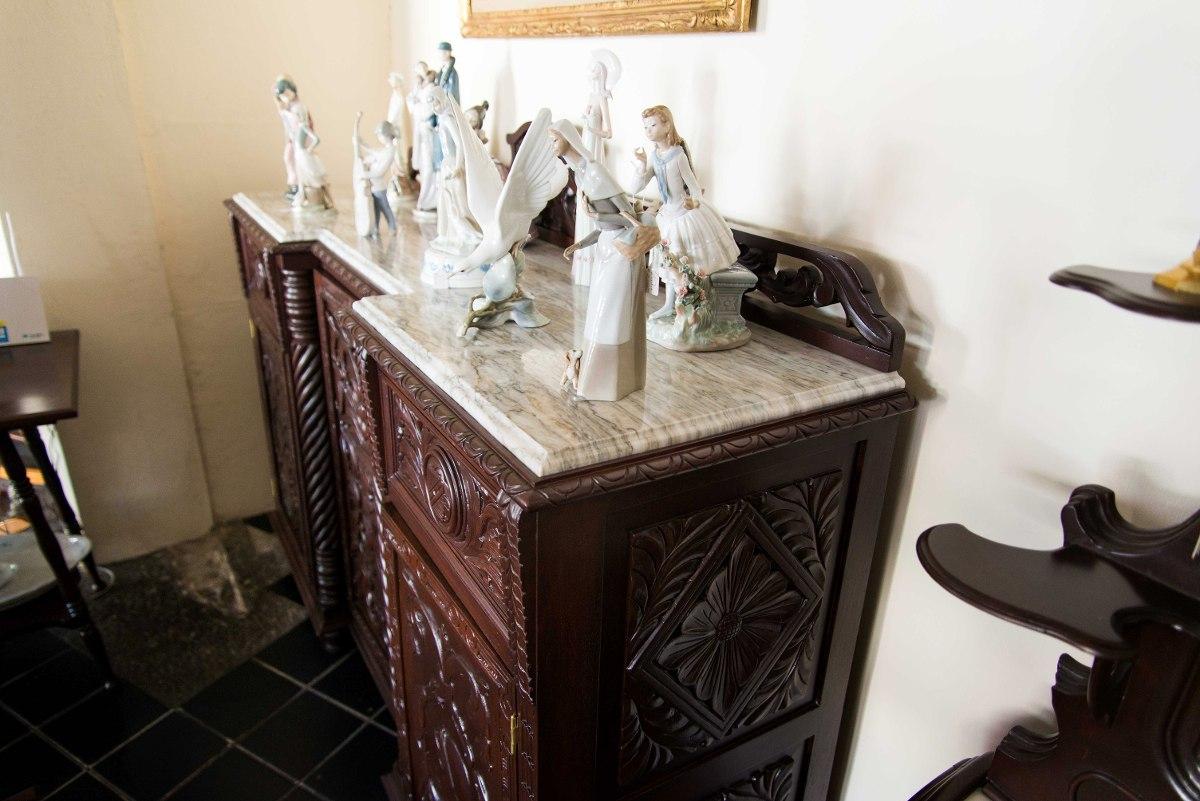Trinchador colonial espa ol cedro bronce y m rmol for Marmol espanol precios