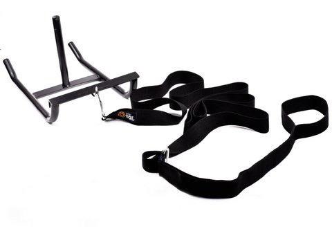 trineo arrastre + cinturon + 3,75 kg discos pesas fitness