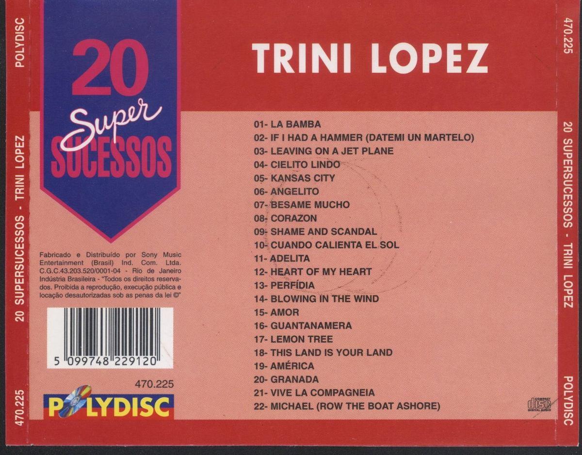 trini lopez 20 super sucessos