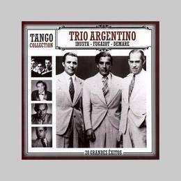 trio argentino irusta fugazot demare tango collecti cd nuevo