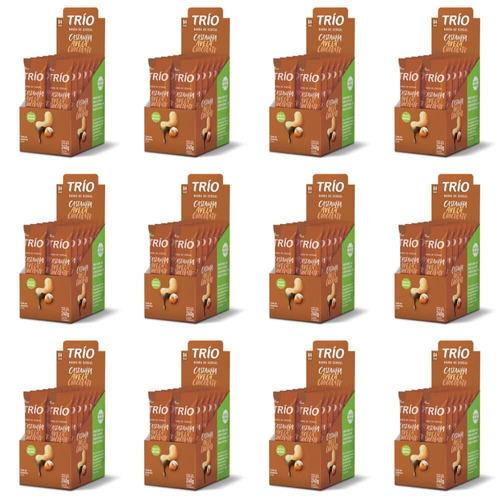 trio barra cereal tradicional avelã chocolat c/12 (kit c/12)