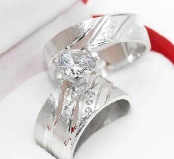 trio de anillos bodas plata 925