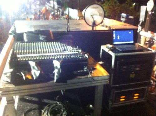 trio eletrico  carro de som documentado 2 geradores