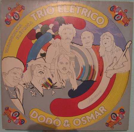 trio elétrico dodô & osmar - vassourinha elétrica - 1980