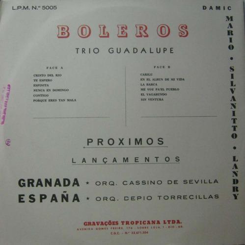 trio guadalupe mario silvanitto landry lp boleros