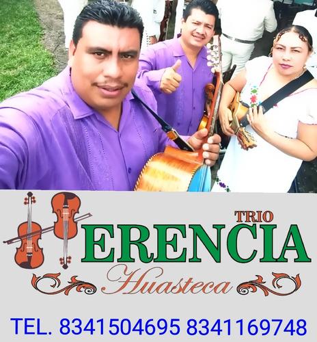 trío herencia huasteca