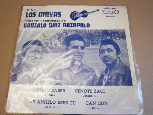 trio los mayas temas de gonzalo diaz arzapalo trova yucateca
