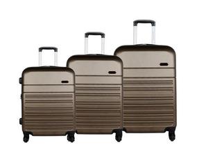 859bf31e2 Kit Com 4 Malas De Viagem - Bagagem e Acessórios de Viagem Malas Não é de  bordo Luxcel Preto no Mercado Livre Brasil