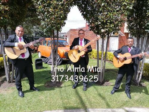 trio musical, serenata de cuerda, popular, misas, cumpleaños