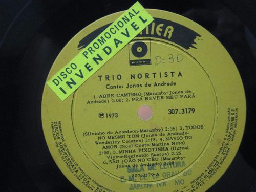 trio nortista - lp jonas de andrade - premier 1973