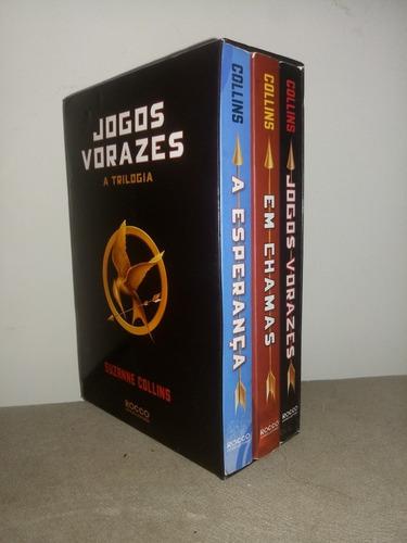 triologia jogos vorazes livros