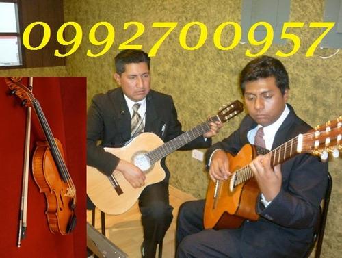 tríos, dúos, cantante violinista, misas, bodas, serenatas,