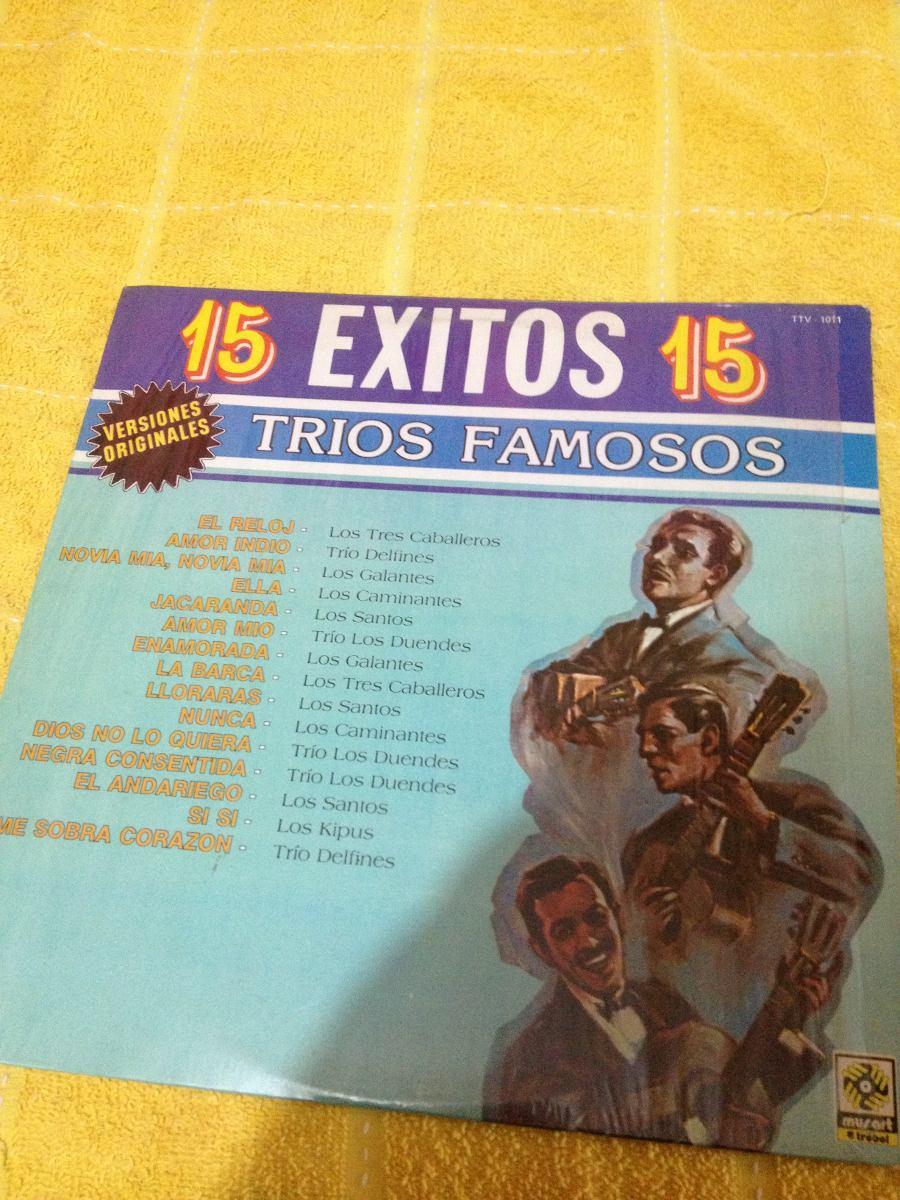Trios Exitos Famosos Disco Mexicano 50000 En Mercado Libre