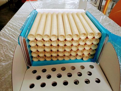 tripa artificial de colágeno p/linguiça cal 24 kit com 10 un