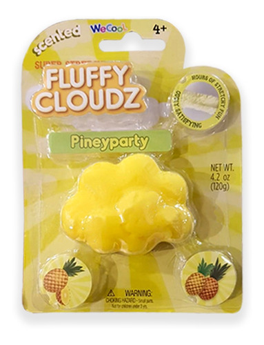 tripack slime nubes de olores coco+melon+piña / ringastore