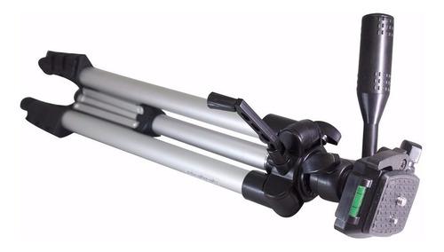 tripé 1,80m universal p/ sony canon nikon mini tripé suporte