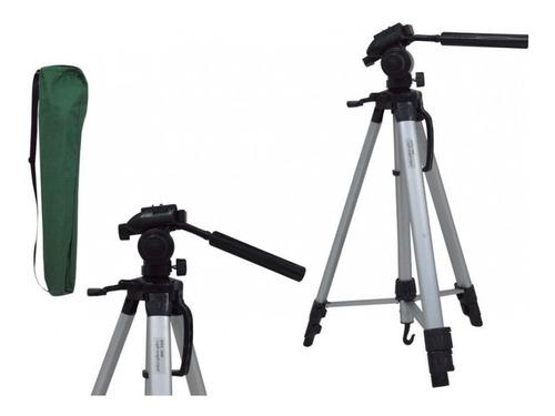 tripé 1,80mts profissional telescópico fotográfico stc-360