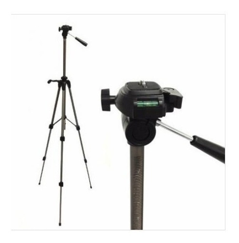 tripé aluminio universal 1.40mt camera filmadora telescópio