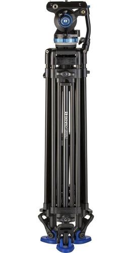 tripé benro dual-tube a673tmb c/ cabeça hidráulica s8pro 8kg