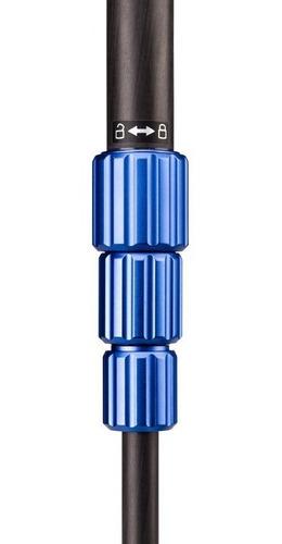 tripé benro tsl08cn00 slim fibra de carbono p/ 4kg até 1,46m