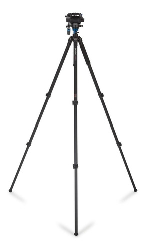 tripé benro vídeo a3573fs6 p/ 6kg c/ cabeça hidráulica 1,91m