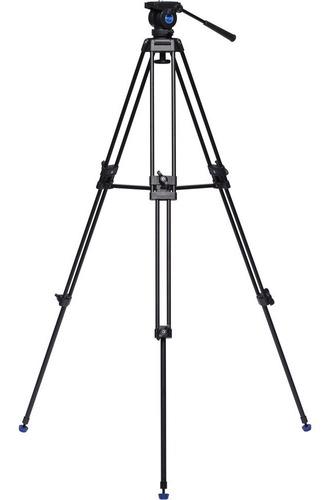 tripé benro vídeo kh25n 1,55m cabeça hidráulica kh25 p/ 5kg