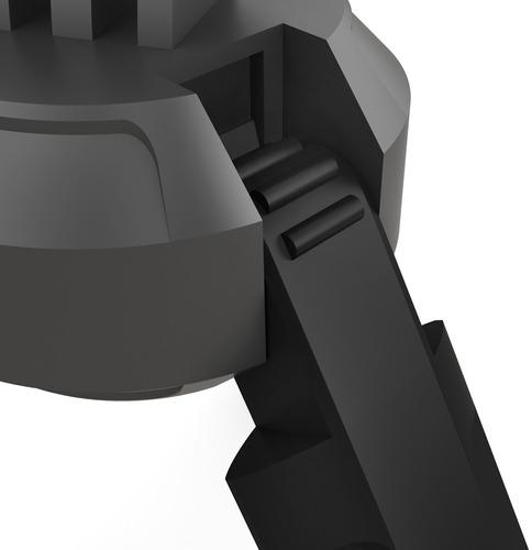 tripé bi-direcional compacto gopole gpbas-15 base gopro hero