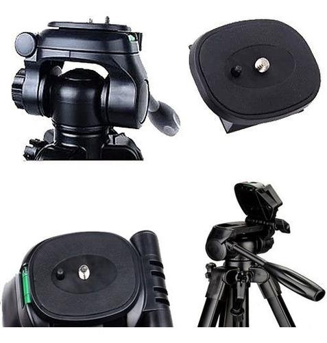 tripe camera digital filmadora dslr aluminio 1.6 mts tr 462