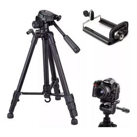 Tripé Câmera Profissional Canon 1,70 Mts + Suporte Celular