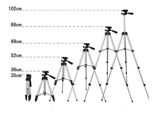 tripe celular camera profissional 1,20+lente 3x1 olho peixe