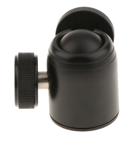 tripé câmera monopé ballhead mini bola cabeça leve deskt