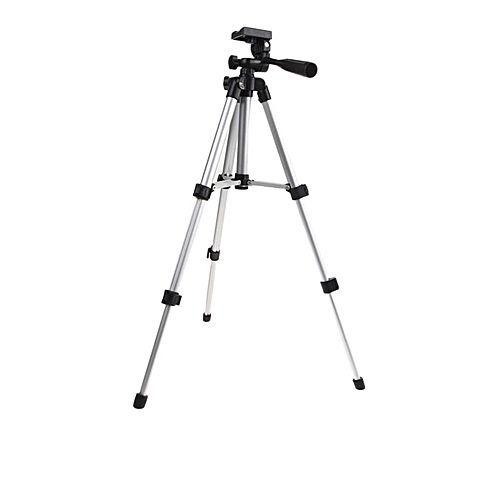 tripé câmera profissional sl-2111  até 1,30 mts + bolsa