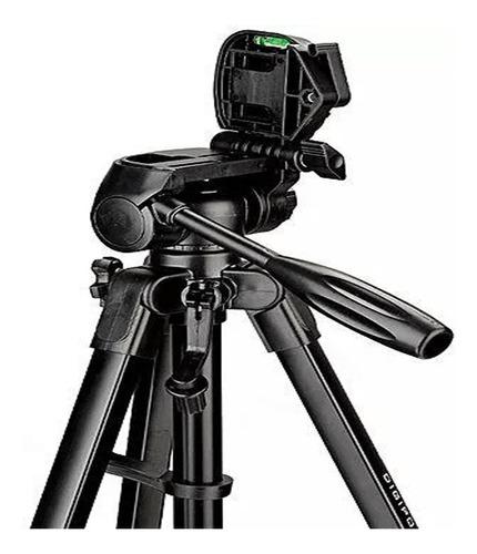tripé compacto 570a cabeça 360° 1.70m  câmeras e filmadoras