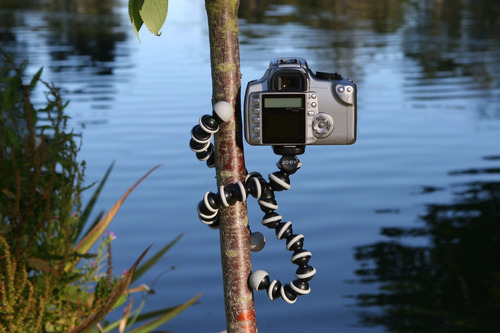 tripé flexível gopro gorilapod tripod go pro 25 cm celular