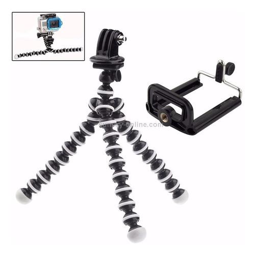 tripé flexível gopro gorillapod tripod universal celular cam