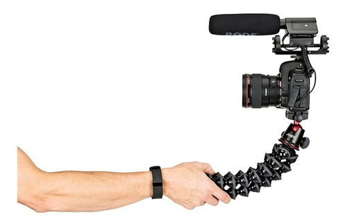tripé flexível joby gorillapod 5k + ballhead x