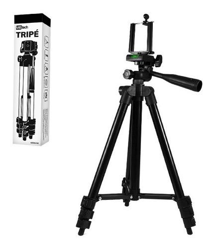 tripé fotográfico universal para camera e celular  1,02mts