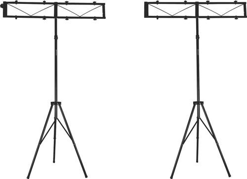tripe iluminacao gol 3 metros dj estudio + 3 formas montagem