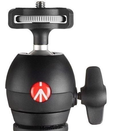 tripé manfrotto mkcompactlt-bk - compact light com ball head