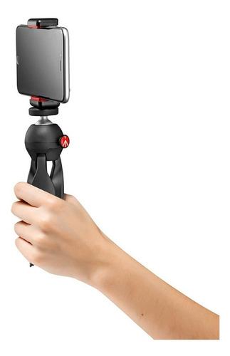 tripe manfrotto mkpixiclamp-bk pixi smarthone iphone câmera