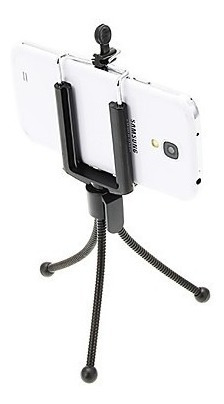 tripe mini universal p/celulares- ajustável - iphone/galaxy