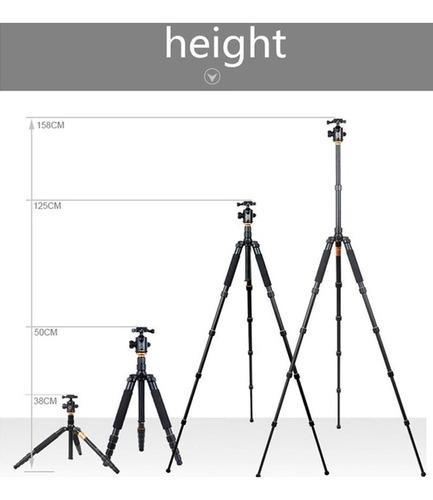 tripé monopé 2x1 até 10kg profissional engate rápido 1.5m i2