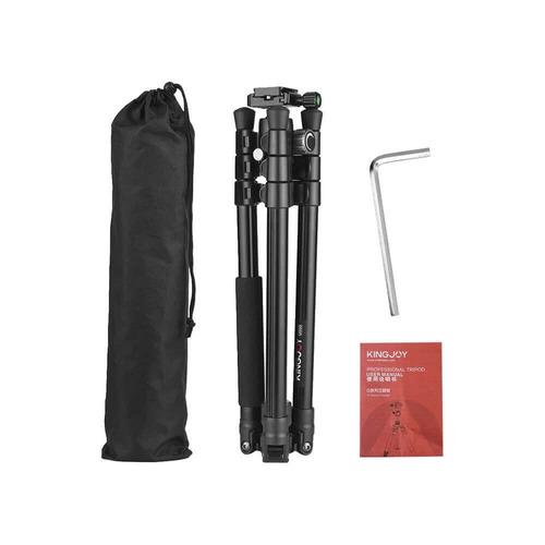 tripé / monopé com cabeça 360 para 5kg (fibra de carbono)