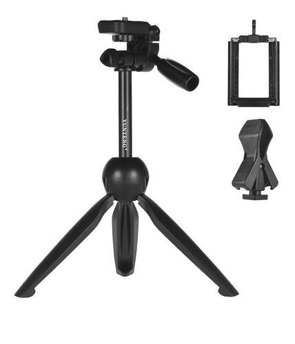 tripé multifunção yunteng vct-2280 câmera microfone celular